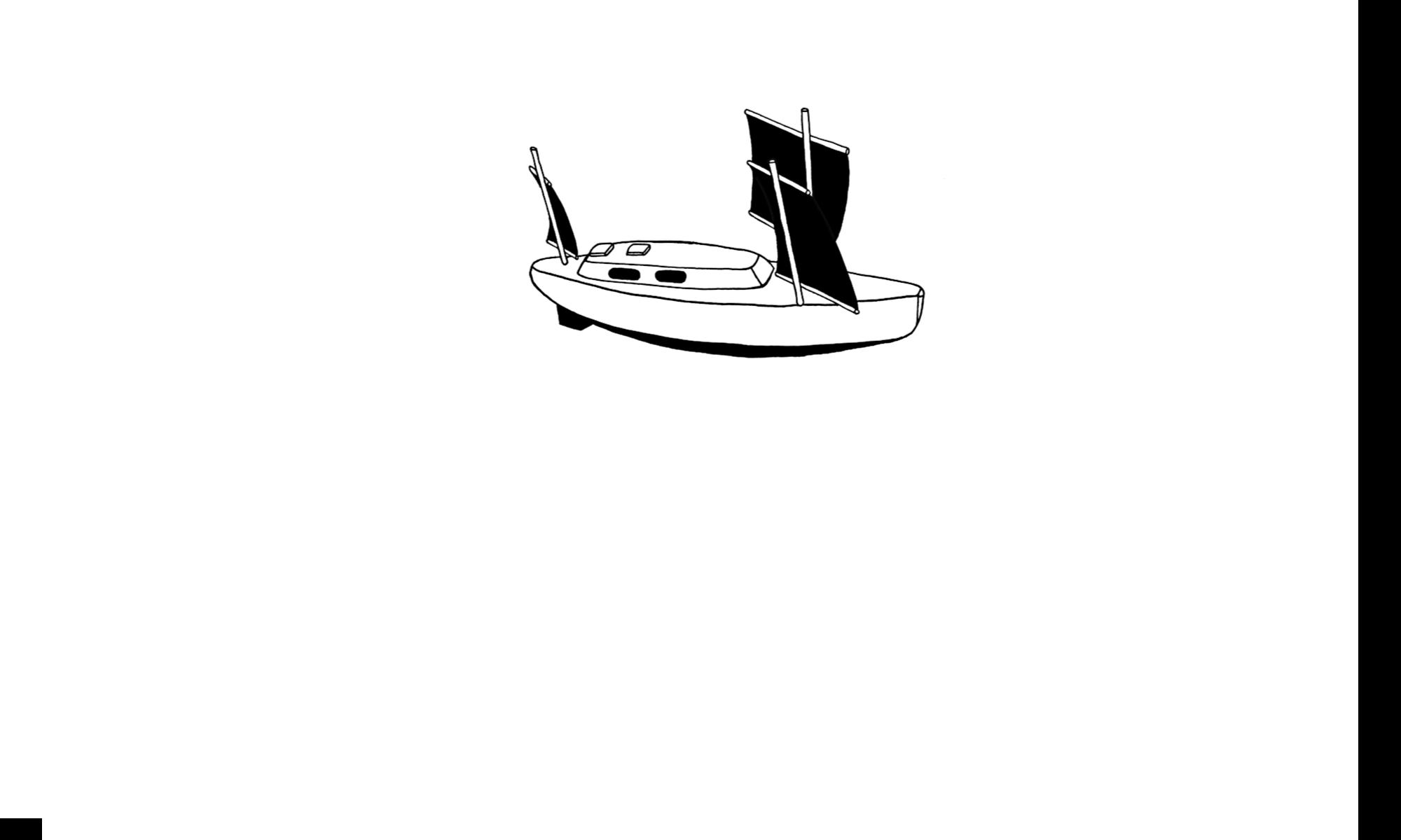 Simple habits, simple boat